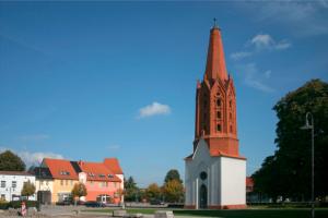 Letschin mit Kirchturm
